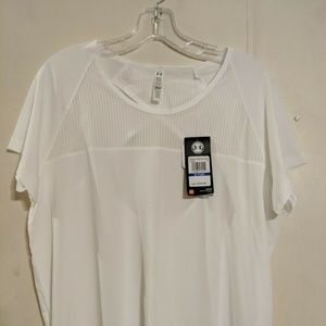Under Armour Womens Fly-By Short Sleeve White (100